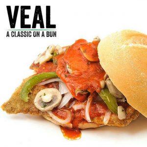 Breaded Veal Sandwich